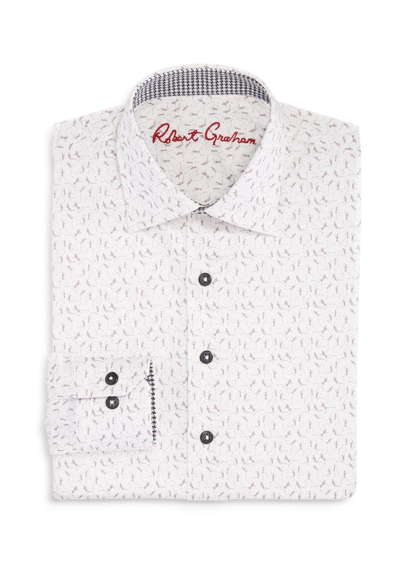 Robert Graham Boys' Skeleton-Print Shirt - Big Kid