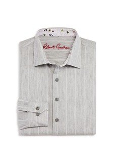Robert Graham Boys' Striped Dress Shirt - Big Kid
