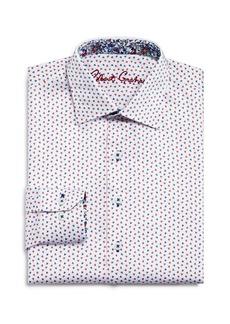 Robert Graham Boys' Triangle-Print Dress Shirt - Big Kid
