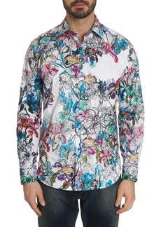 Robert Graham Broken Blossom Sport Shirt