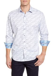 Robert Graham Cahuenga Classic Fit Button-Up Sport Shirt