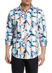 Robert Graham Calazans Classic Fit Print Sport Shirt