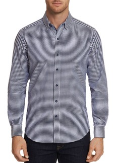 Robert Graham Canvey Modern Houndstooth-Print Tailored Fit Shirt - 100% Exclusive