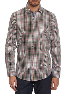 Robert Graham Cape Vincent Classic Fit Dobby Check Sport Shirt