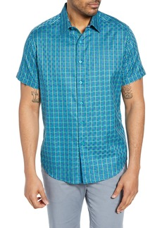 Robert Graham Capra Classic Fit Cotton Sport Shirt