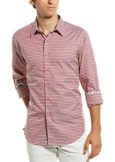 Robert Graham Carey Classic Fit Woven Shirt