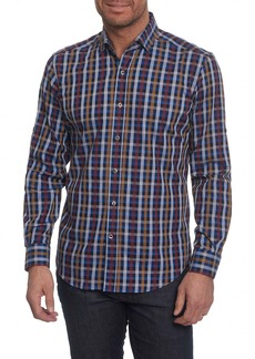 Robert Graham Carsons Tailored Fit Check Sport Shirt