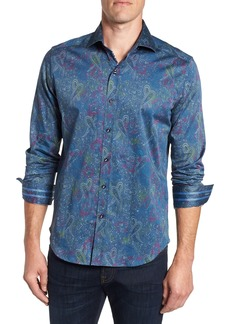 Robert Graham Carver Tailored Fit Sport Shirt