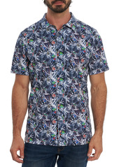 Robert Graham Catch Waves Short Sleeve Shirt