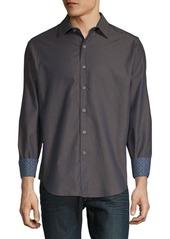 Robert Graham Chanhassen Printed Cotton Button-Down Shirt