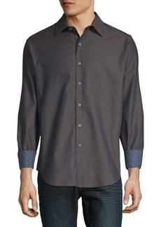 Robert Graham Chanhassen Printed Cotton Button-Down Shirt