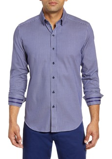 Robert Graham Charlie Regular Fit Check Button-Up Sport Shirt