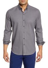 Robert Graham Charlie Regular Fit Check Button-Up Sport Shirt
