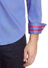 Robert Graham Charlie Tailored Fit Check Button-Up Sport Shirt