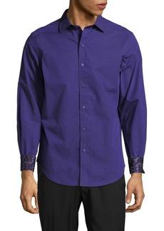 Robert Graham Cibola Textured Cotton Shirt