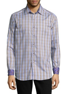 Robert Graham City Car Printed Cotton Casual Button-Down Shirt