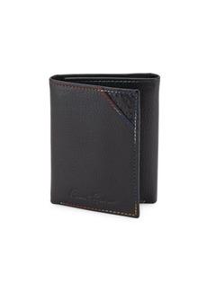 Robert Graham Clarke Leather Tri-fold Wallet