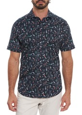 Robert Graham Cocktail Recipe Short Sleeve Shirt