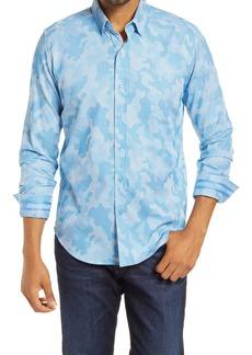 Robert Graham Colby Print Trim Fit Button-Up Shirt