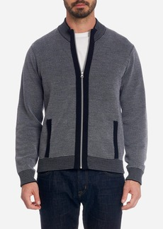 Robert Graham Conboy Full Zip Knit Sweater