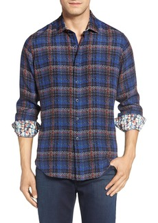 Robert Graham 'Concordia' Classic Fit Plaid Silk Blend Sport Shirt