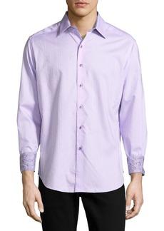Robert Graham Cotton Button-Down Shirt