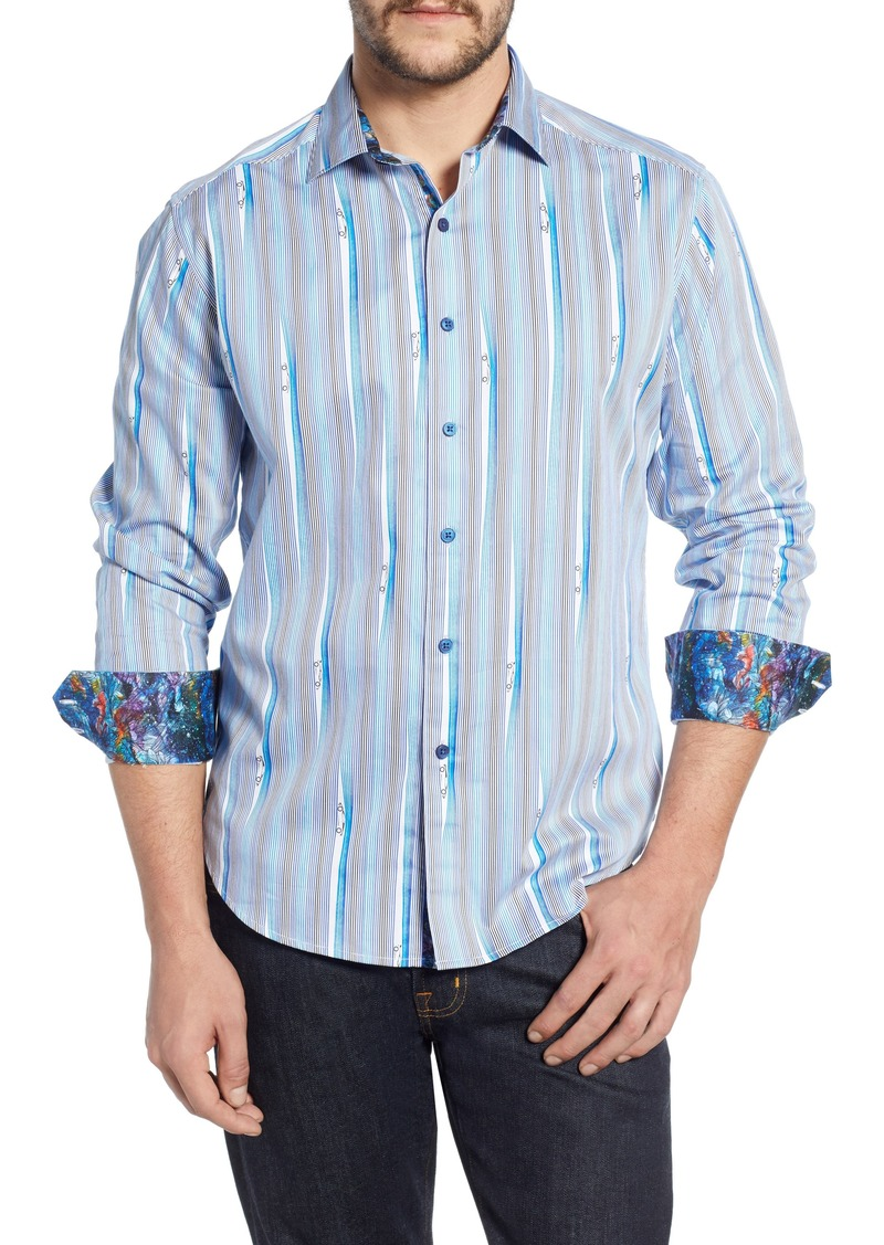 Robert Graham Cruisin Classic Fit Sport Shirt