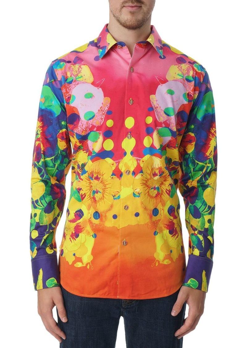 Robert Graham Crystal Ship Limited Edition Classic Fit Long Sleeve Shirt