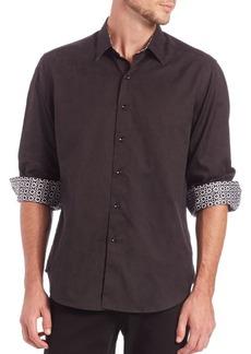 Robert Graham Cullen Cotton Button-Down Shirt