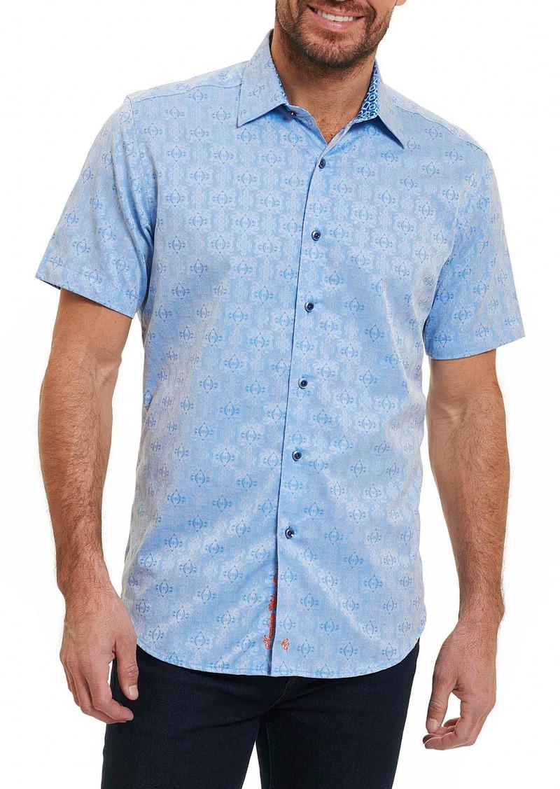 Robert graham robert graham cullen regular fit sport shirt for Robert graham sport shirt