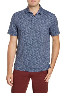Robert Graham Curly Graphic Stretch Jersey Polo