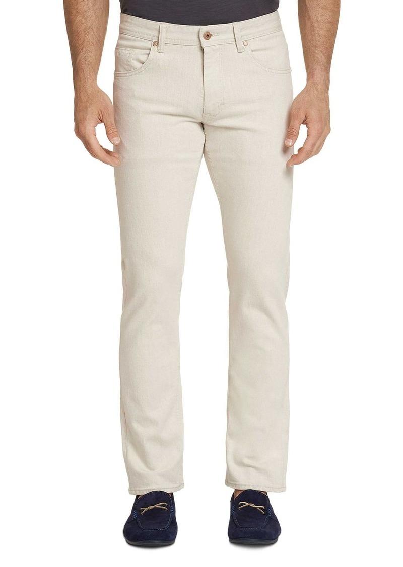 Robert Graham Demetri Regular Fit Jeans in Wheat