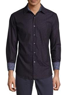 Robert Graham Deptford Cotton Button-Down Shirt