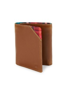 Robert Graham Derby Leather Tri-Fold Wallet