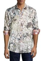 Robert Graham Desert Bones Long-Sleeve Sport Shirt