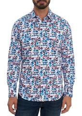 Robert Graham Diamond Classic Fit Long Sleeve Shirt