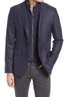 Robert Graham Downhill XIV Tailored Fit Wool & Cashmere Sport Coat
