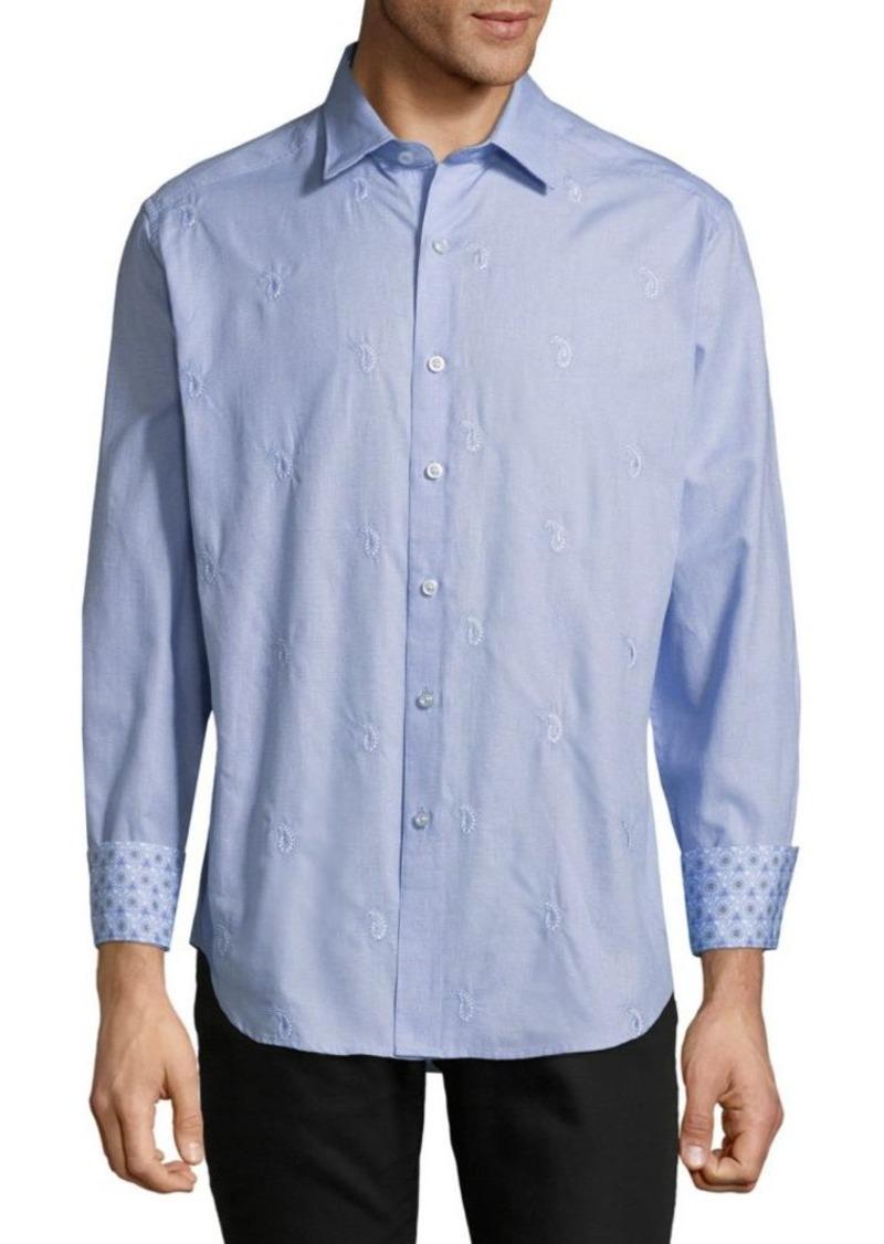 Robert Graham Embroidered Dress Shirt