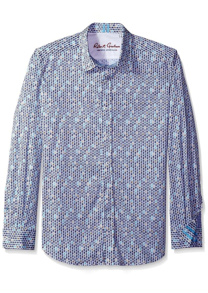 Robert Graham en's Tailored Fit Stafford Sport Shirt - edium -