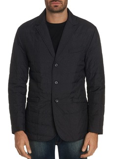 Robert Graham Epstein Channel-Quilted Classic Fit Blazer