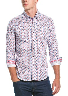 Robert Graham Everard Tailored Fit Woven Shirt