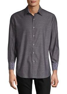Robert Graham Fastback Cotton Casual Button-Down Shirt