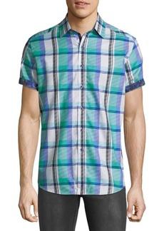 Robert Graham Flimore Plaid Button-Down Shirt