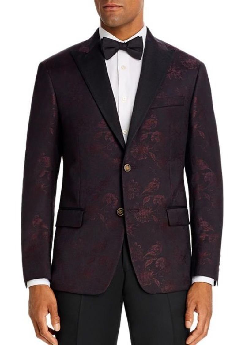 Robert Graham Floral Jacquard Classic Fit Dinner Jacket