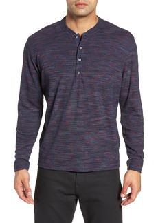 Robert Graham Forster Long Sleeve Henley Shirt
