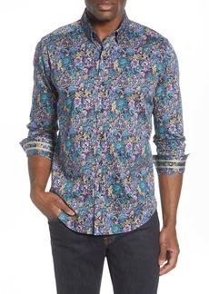 Robert Graham Foster Regular Fit Floral Button-Up Shirt
