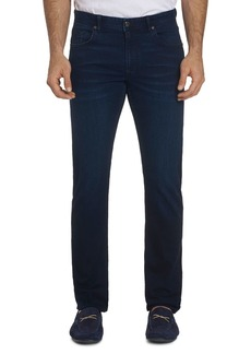 Robert Graham Frollo Straight Slim Jeans in Indigo