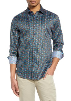 Robert Graham Fruit Cocktail Print Button-Up Shirt