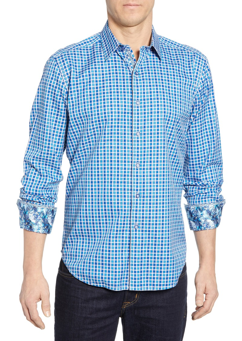 Robert Graham Gainsford Classic Fit Check Sport Shirt