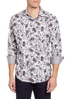 Robert Graham Gardens Classic Fit Button-Up Sport Shirt